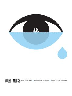 GigPosters.com - Modest Mouse - Man Man