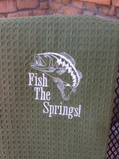 Sportsmans Towel by ChampagneThreads on Etsy, $10.00