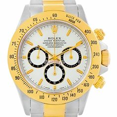 Rolex Daytona automatic-self-wind yellow mens Watch 16523 (Certified Pre-owned) ** Want additional info? Click on the image.