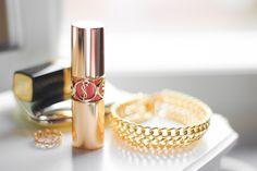 YSL lipstick (rouge volupté)