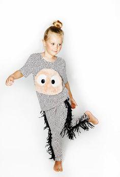 Bang Bang Copenhagen Wayne Dot Leggings from Ireland by Mira Mira Cool Girl, Boy Or Girl, Girls Tees, Black Dots, Striped Shorts, Best Brand, Copenhagen, Dapper, Kids Outfits