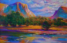 Yosemite Gold, pastel by Michael Mckee