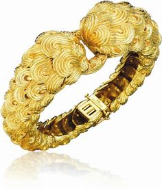 DAVID WEBB  A Gold Bracelet