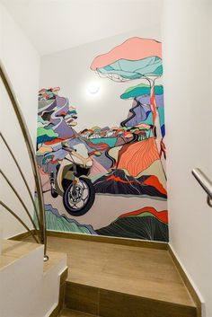 Into the Wild | Wall Mural Interior design