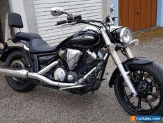 Yamaha Midnight Star XVS 950 Motorcycle 2012 Cruiser Chopper motorcycle #yamaha #allmodels #forsale #unitedkingdom
