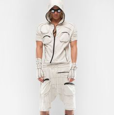 Demobaza-Men's Overall Ray : Ceiba SF Roll Up Sleeves, Overalls, Cotton, Shirts, Men, Shopping, Fashion, Moda, Fashion Styles