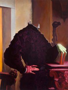 Christoph Steinmeyer  Der Titan II - 2011/2012  Oil on canvas  140 cm x 105 cm / 55,1 x 41,3 in.