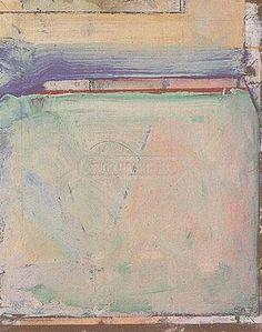 Richard Diebenkorn  Cigar Box Lid #11