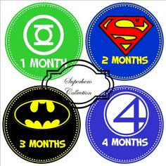 Hey, I found this really awesome Etsy listing at http://www.etsy.com/listing/157432438/superhero-baby-monthly-onesie-stickers