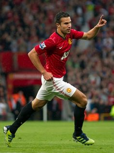 Robin Van Persie, one of the many reasons to love the beautiful game!