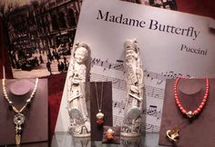 """Parte de la exposición Ópera, el arte hecho joya"""" dedicada a Puccini"""