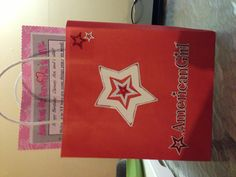 American girl party favor bags 8th bday