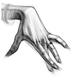 female hand drawing