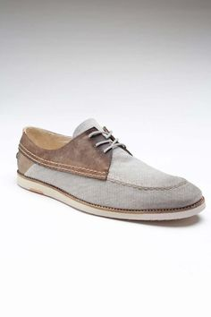 J. SHOES DISTRICT- Love these shoes for the man in your life!  Dress down a linen suit!  <3