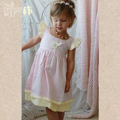 new classics for the well dressed child Pretty Little Dress, Little Dresses, Flower Girl Dresses, Toddler Outfits, Girl Outfits, Well Dressed Wolf, Lily Grace, Cool Kids Clothes, Baby Couture