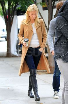 Gwyneth Paltrow Dreams of Wine Coolers, and Logs Another Day on Her NYC Set