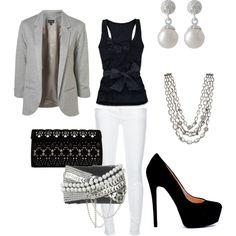 love black & white!!