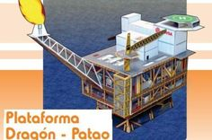 PAPERMAU: Oil Rig Paper Model Diorama - by Bolivarian Govern...