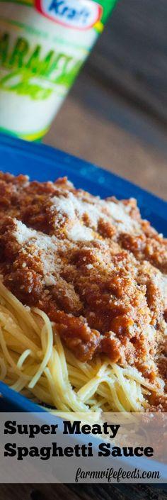 Super Meaty Spaghett