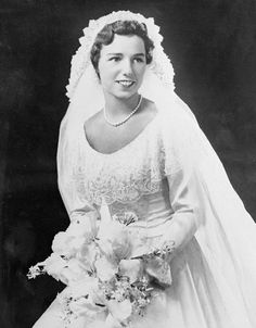 Chic Vintage Bride - Ethel Skakel Kennedy