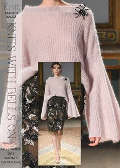 Needlecrafts - Knit-Knits with Bells On                                        All designer images above |   style.com         Fall/Win...