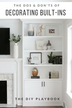 Decorating built-in