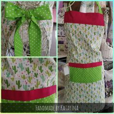 #handmade #apron #cactus #homesweethome #badischl Apron, Sweet Home, Handmade, Cactus, Handbags, Pinafore Dress, House Beautiful, Aprons, Hand Made