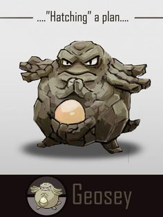 Pokemon Pokefusion Geosey by Kaji18 CLICK ON THIS DAMN PIC TO VOTE FOR GEOSEY
