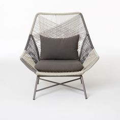 Lounge chair cushion gray west elm chairs and outdoor lounge - Relax Armchair Patricia Urquiola For Kettal Maison
