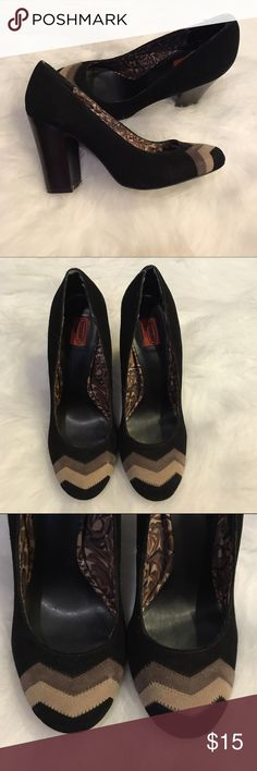 Missoni Heels Missoni for Target Heels. Minimal signs of wear. On small scratch on the back of the left heel. Only noticeable up close. Excellent condition. Really cute fall heels. Missoni Shoes Heels