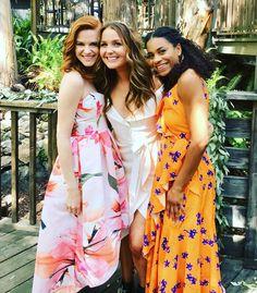 Sarah, Camilla, and Kelly