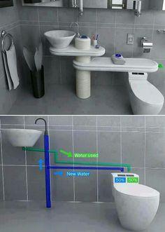 Ideal para cuidar el agua