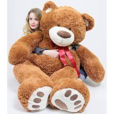 Giant Stuffed Animals, Stuffed Bear, Giant Teddy Bear, Huge Teddy Bears, Big Plush, Giant Plush, Shooting Photo, Caramel Color, Bigfoot