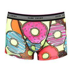 Men's Boxer Pants-Donut, frontprint メンズファッション アンダーウェア ボクサーパンツ #darkshiny #mensfashion #boxerbrief