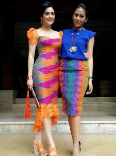 Fashion african style chic 53 ideas for 2019 African Print Dresses, African Print Fashion, African Wear, African Dress, African Style, Batik Kebaya, Batik Dress, Kebaya Bali, Dress Batik Kombinasi
