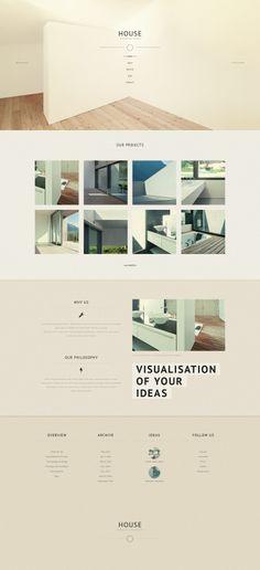 'House Architecture' #webdesign for #WordPress 3.x http://zign.nl/46148