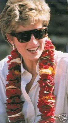 March 3, 1993: Princess Diana at the Pakhribas Agricultural Research Centre in Nepal.