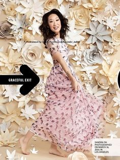 Sandra Oh Entertainment Weekly Cover