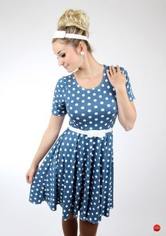 """Petticoatkleider - MEKO Kleid """"BIRDY_PG17A"""" - ein Designerstück von meko bei DaWanda"""