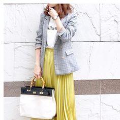 メンズチックが女の子ウケ♡今の時期にぴったりな軽めアウター Hermes Kelly, Tops, Fashion, Moda, Fashion Styles, Hermes Kelly Bag, Fashion Illustrations