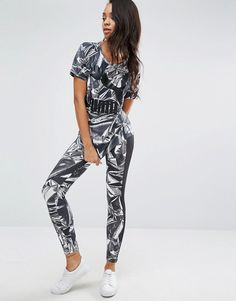 Puma Graphic Print Leggings Puma Leggings 0204db5d0d2