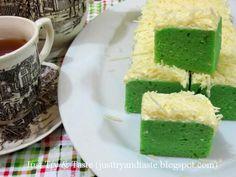Resep Brownies Kukus Keju Pandan JTT