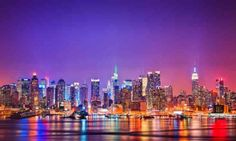 your one stop guide to find the best things to do in NYC. This city that never sleeps will take your breath away and explore the New York City like never before. A selectively hand picked Places to visit in NYC. Nyc Skyline, New York City Skyline, Skyline Image, Manhattan Skyline, Lower Manhattan, Tokyo Skyline, Night Skyline, Skyline Art, New York