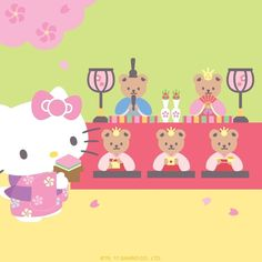 "12.3k Likes, 43 Comments - Hello Kitty (@hellokitty) on Instagram: ""Hello, it's #GirlsDay! Also known as #Hinamatsuri in Japanese culture."""