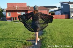 Pretty Quirky Pants | DIY Lace Kimono Jacket - cocoon cut