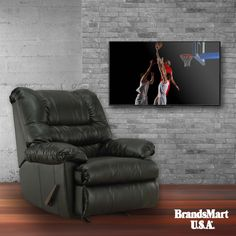 Watch the Game in Comfort   Simmons Geneva Rocking Recliner - Low Price  Watch the Finals in comfort with this rocker recliner from Simmons.  • Simmons • College Basketball • Recliner • Living Room • Furniture • Chair • Comfort • Relax • Deals • March Madness