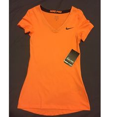 Nike Pro Top Brand new with tags. Size X-large. No trades.           I inspect all my items before I ship them out so please be sure to read descriptions before purchasing to prevent any miscommunication. Nike Tops Tees - Short Sleeve