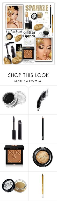 """""""Glitter Lipstick"""" by diva1023 ❤ liked on Polyvore featuring beauty, Chanel, NARS Cosmetics, Givenchy and Urban Decay"""