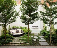 Ideas para decorar jardines pequeños y modernos - EspacioHogar.com