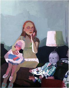 Helen+Verhoeven,+The+Waiting+4.+Oil+on+canvas,+68x53+cm,+2013+on+ArtStack+#helen-verhoeven+#art